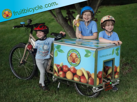 fruit bicycle