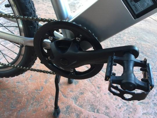 GenZe Sport electric bike cranks