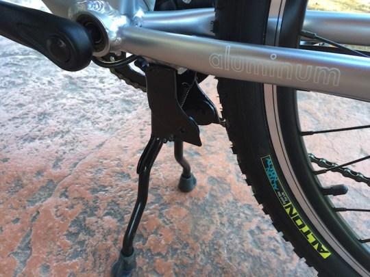 GenZe Sport electric bike kickstand