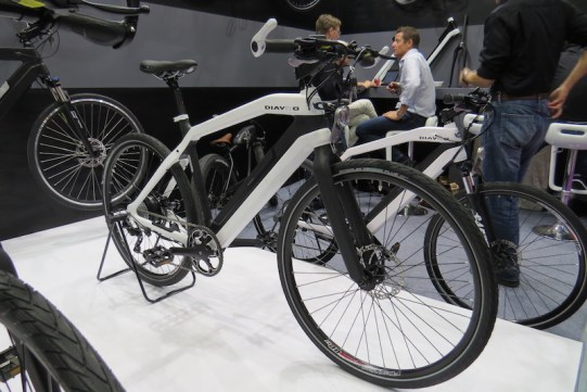diavelo carbon electric bike