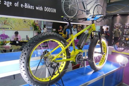 dodsun fat electric bike shimano