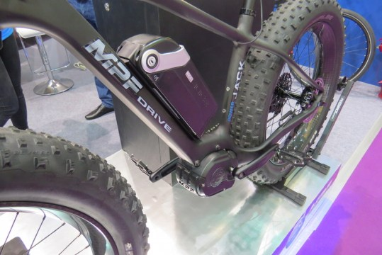 mpf fat carbon electric bike drive