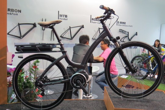 step thru electric bike shimano