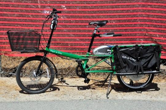 Bike Friday Haul a day electric bike