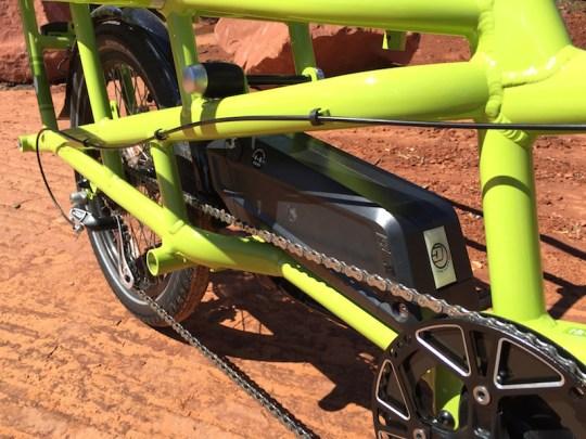 yuba spicy curry electric cargo bike battery