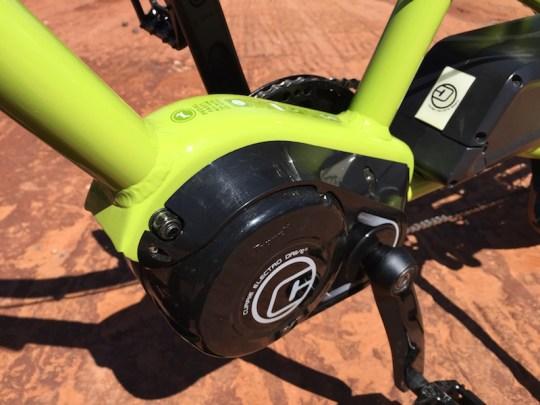 yuba spicy curry electric cargo bike motor 2
