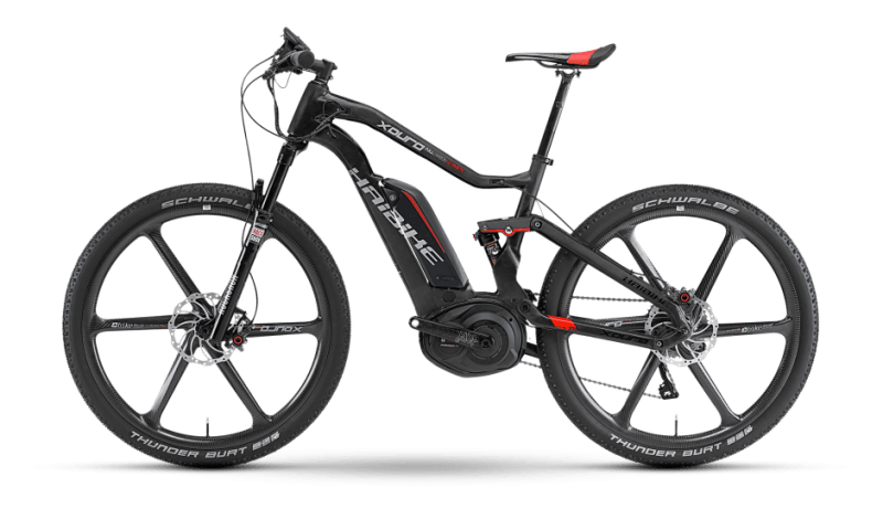 Haibike Carbon Ultimate electric mountain bike