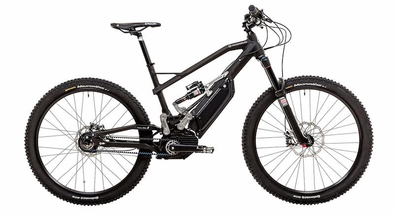 Heisenberg electric mountain bike