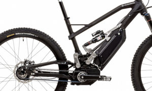 Heisenburg electric bike XF1 drivetrain
