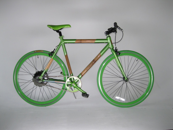 K15 bamboo electric bike