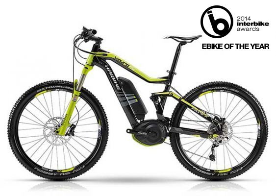 Haibike FS RX electric mountain bike