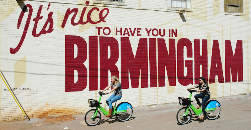 Birmingham electric bike share 1