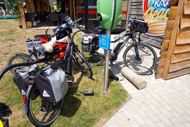 Haibike Trekking RX electric bike touring