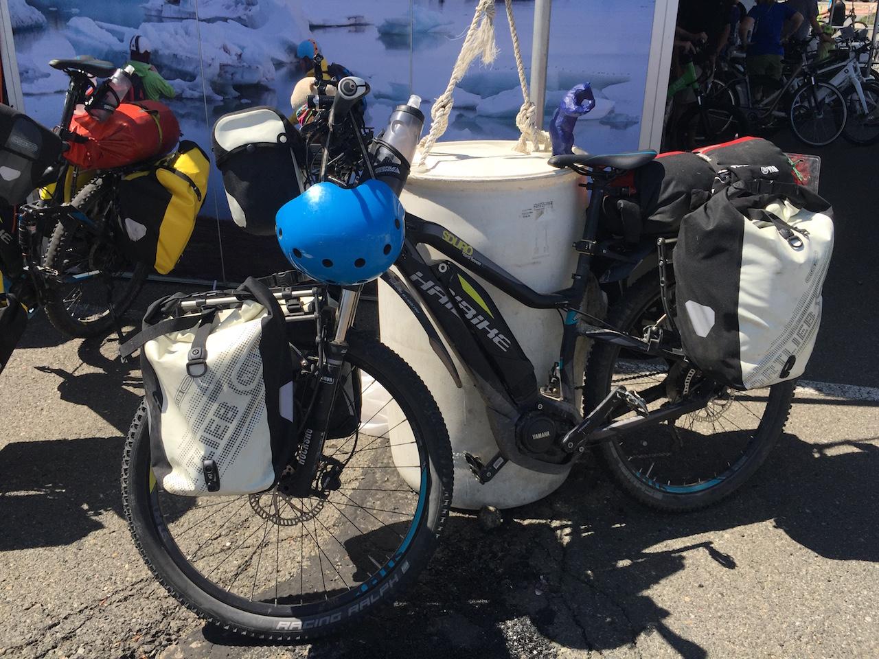 Pedelec Adventures Haibike electric bike