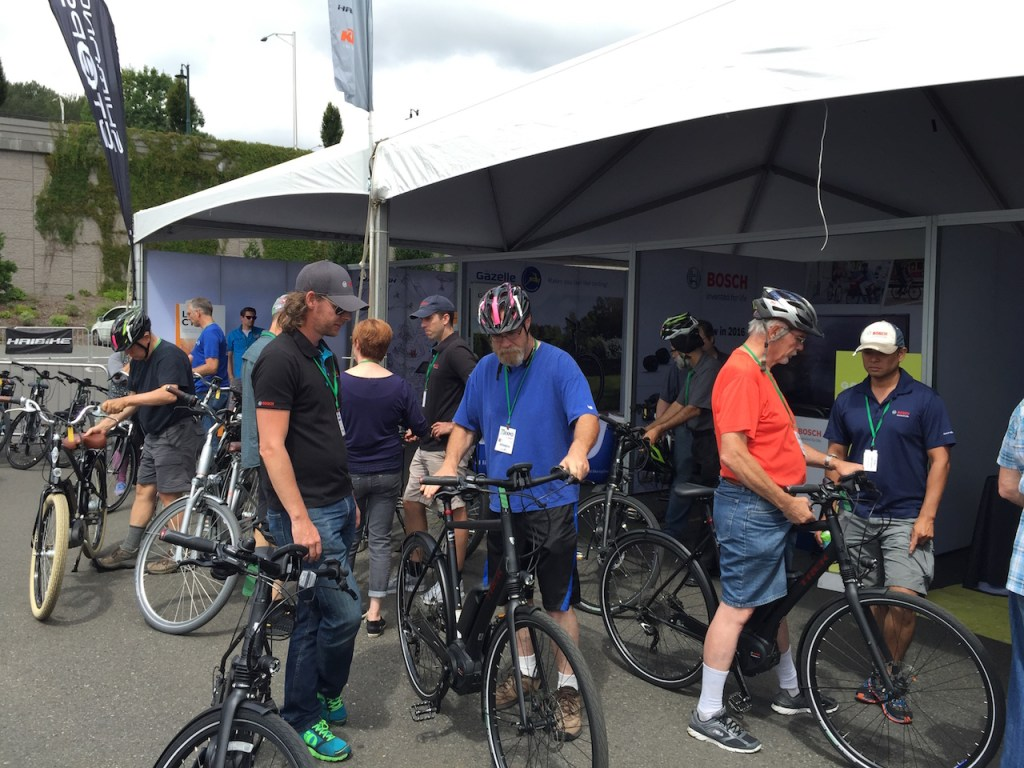 Seattle electric bike expo 2