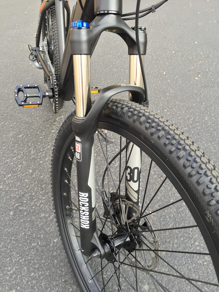 ProdecoTech Phantom XR electric bike rockshox fork
