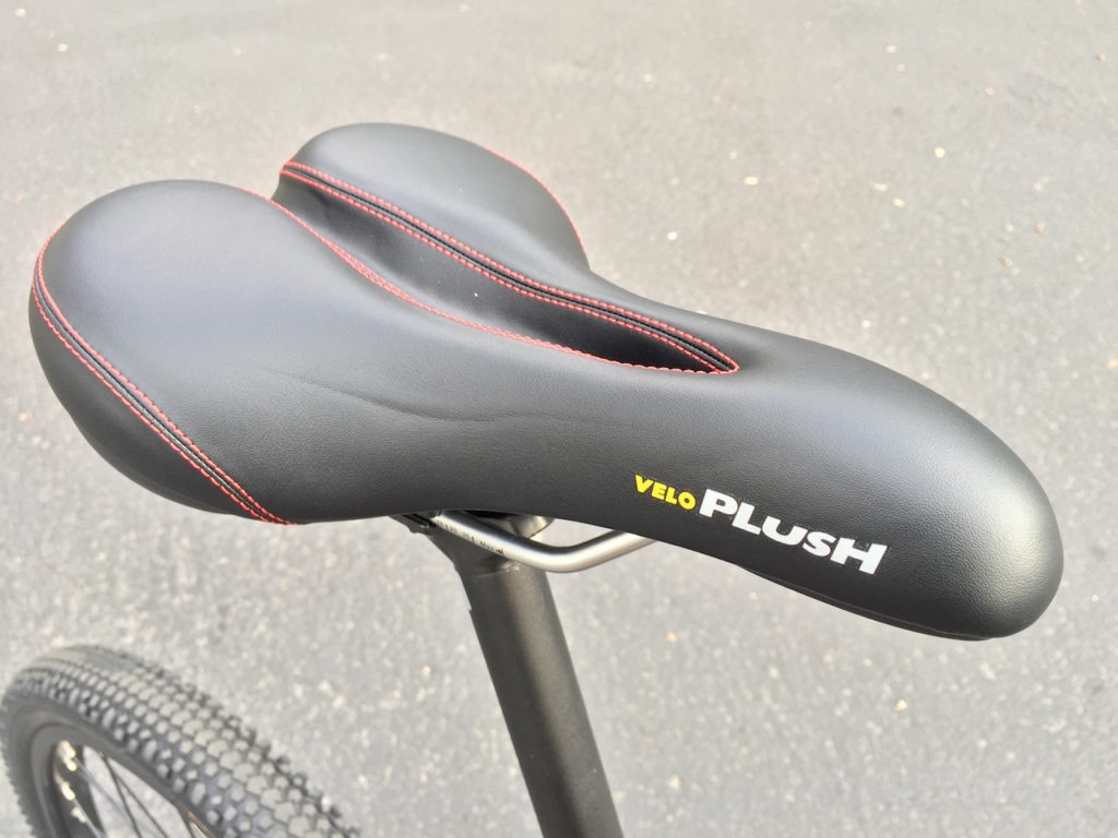 ProdecoTech Phantom XR electric bike veloplush saddle