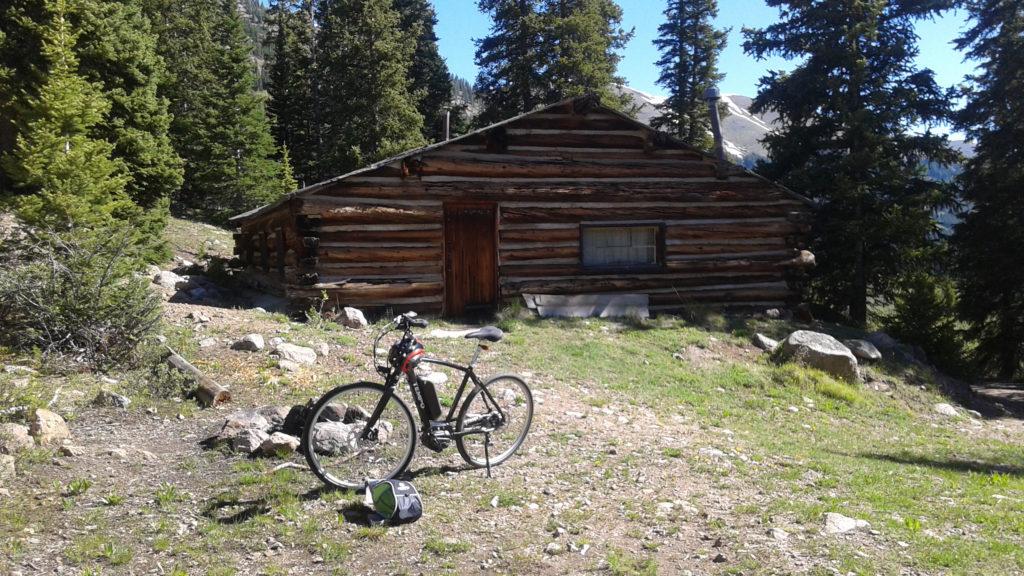 colorado divide electric bike cabin