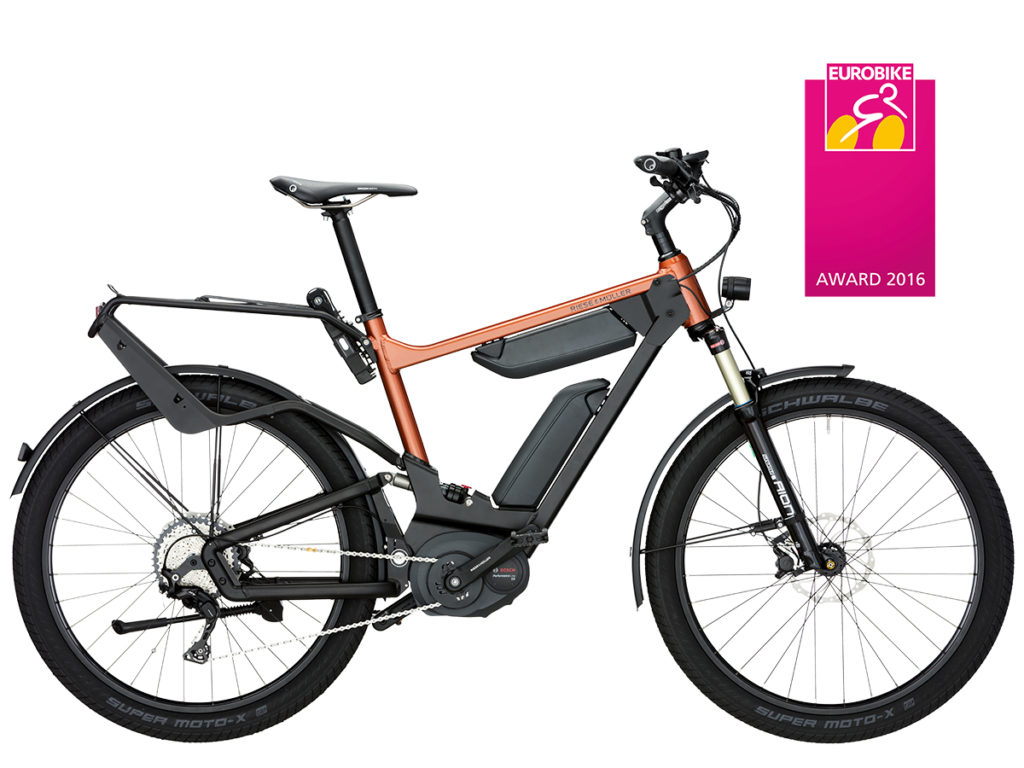 Delete GT touring electric bike