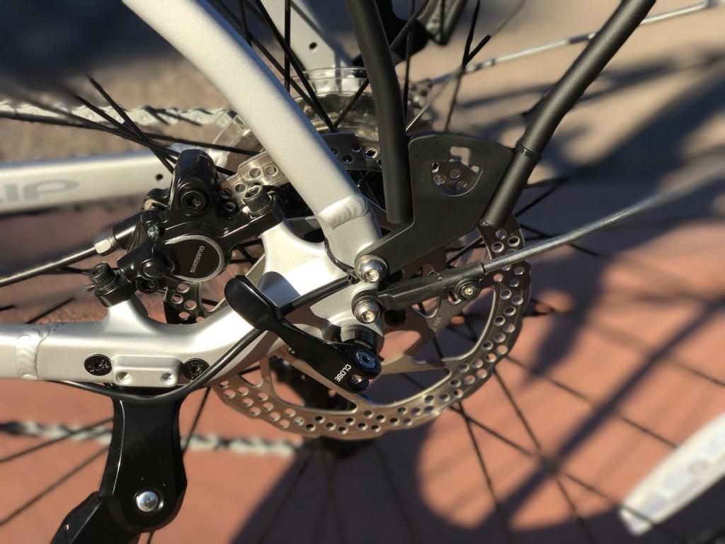 izip-e3-dash-electric-bike-rear-disc-brake
