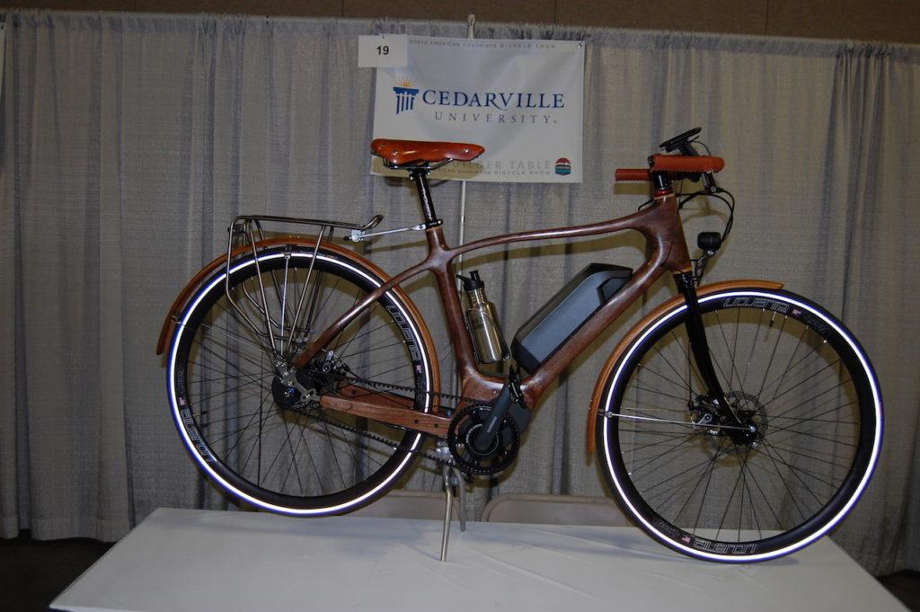 Cedarville wood electric bike 1