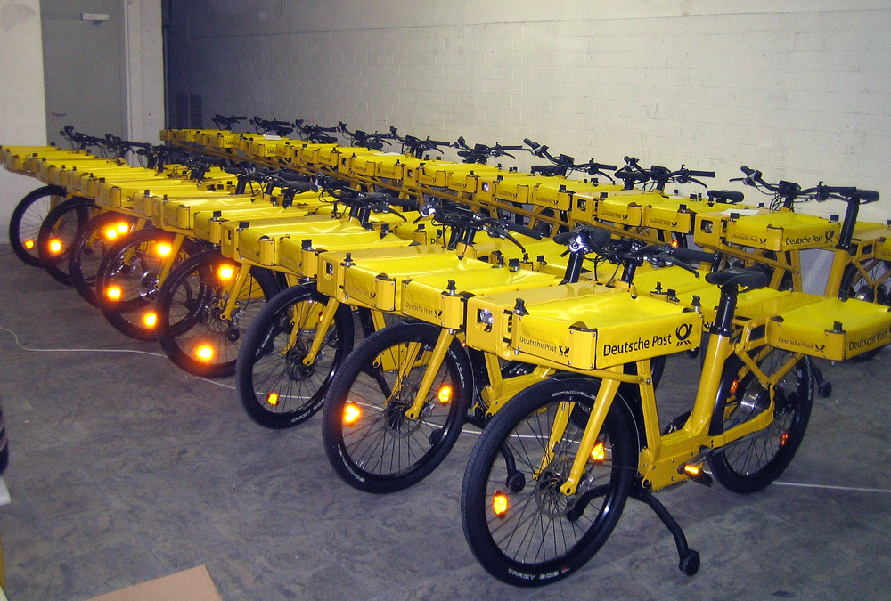 Deutsche Post has a lot of pedelecs