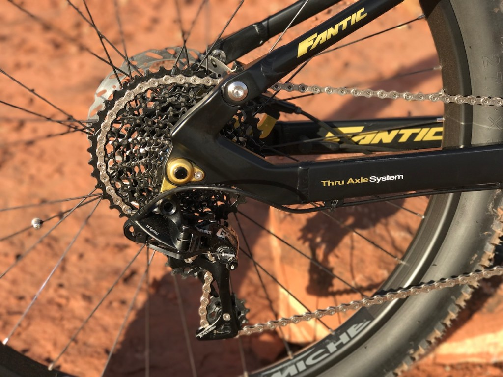 Fantic XF1 Casa electric mountain bike derailleur