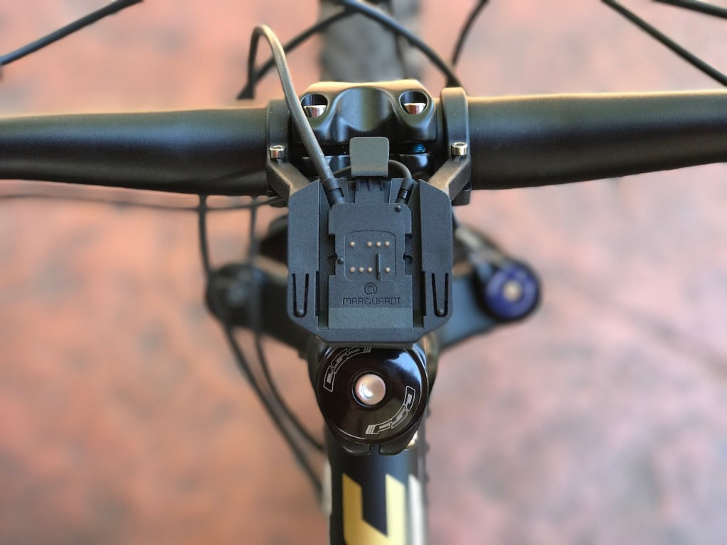 Fantic XF1 Casa electric mountain bike display mount
