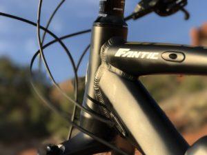 Fantic XF1 Casa electric mountain bike headtube 2