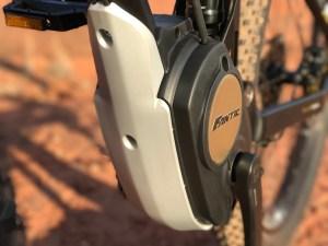 Fantic XF1 Casa electric mountain bike motor guard