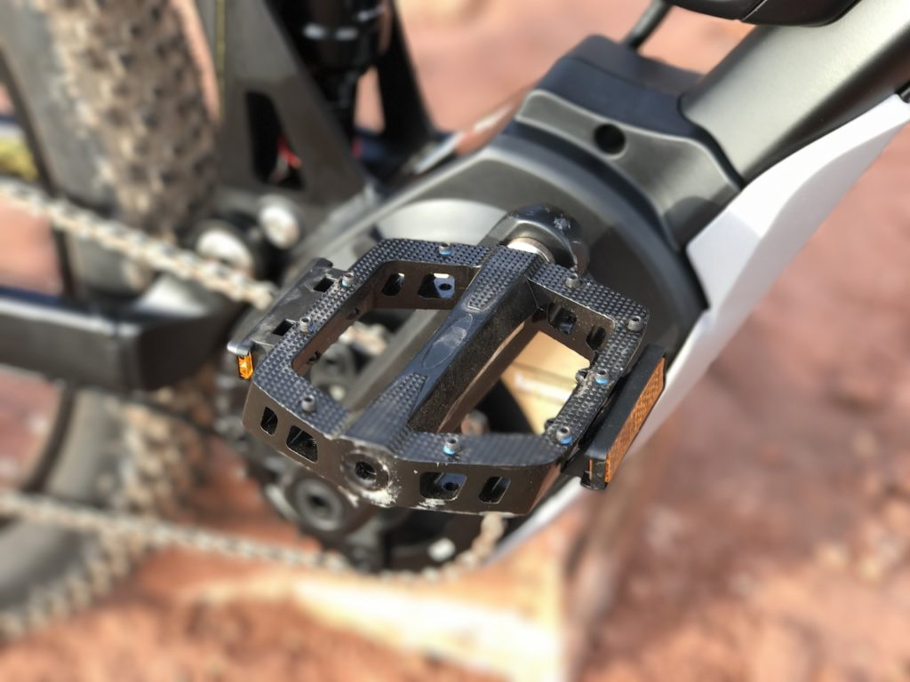 Fantic XF1 Casa electric mountain bike pedal