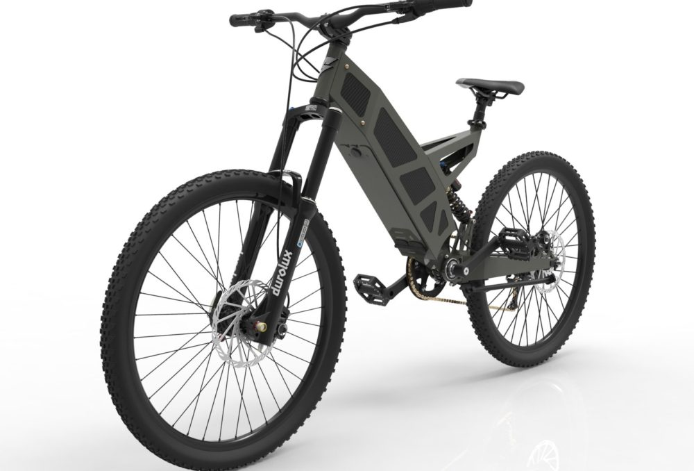 Stealth P-7 electric bike