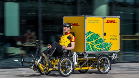 eBike News: DHL Cubicycle, More Bikes Than Cars, Expo Highlights, Video Cam & Light, & More! [VIDEOS]