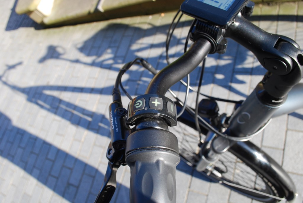 Wipser 705 electric bike control pad