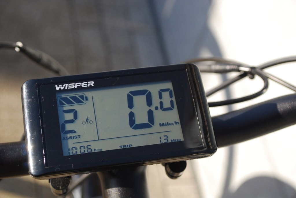 Wipser 705 electric bike display