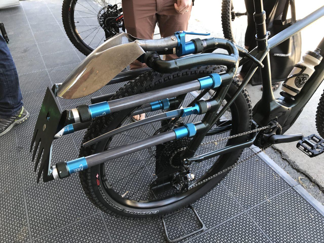 Specialized Levo Trail Building Electric Mountain Bike