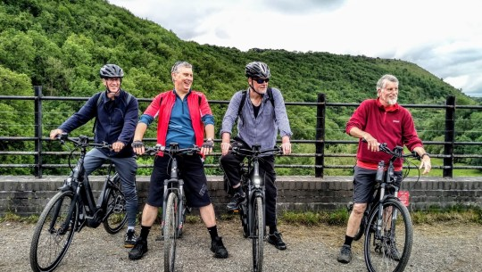 eBiking with Artificial Hearts: The Cranks Electric Cycling Club