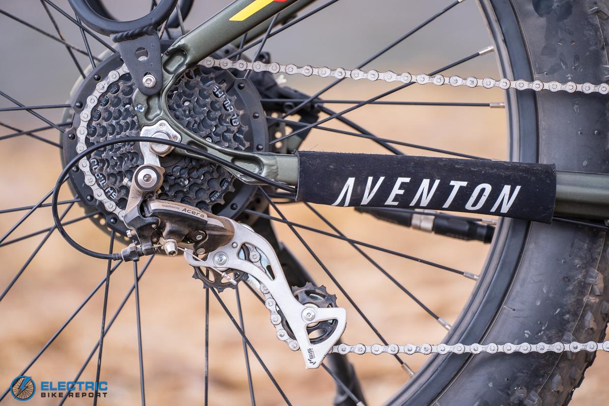 Aventon - Aventure - Shimano Acera Drivetrain