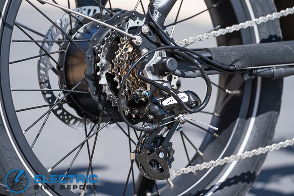 Rad Power Bikes - RadMini 4 Shimano Altus Drivetrain