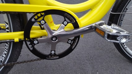Smartmotion eCity Cranks and Chainring