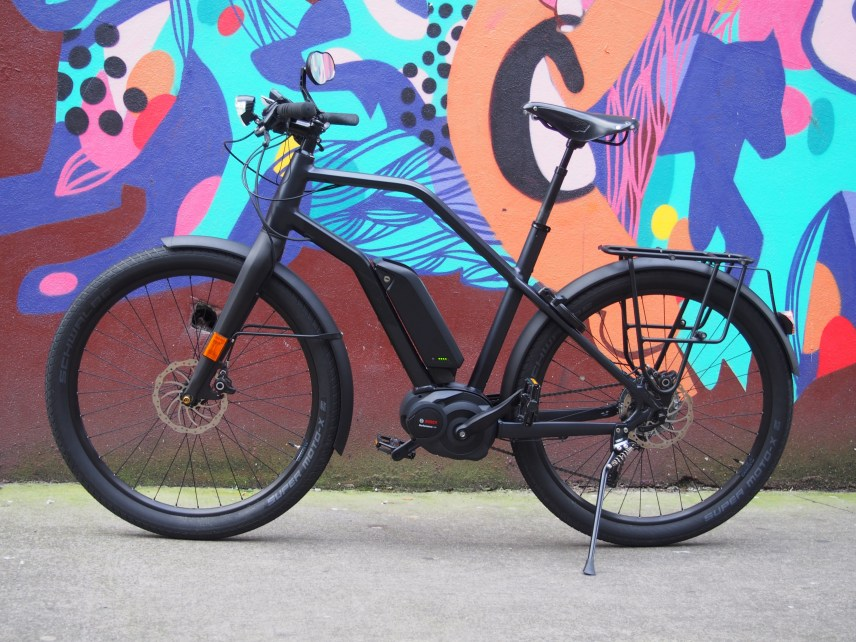 Still life with bicycle (Mural by Mica Still)