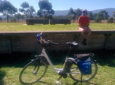 Chilling at the station - Woori Yallock
