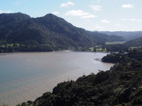 Looking back to Huia