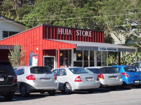 The Huia Store is a bit famous