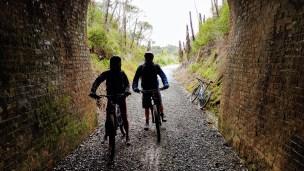 The tunnel near Opua