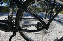 """27.5"""" Schwalbe balloon tyres are comfortable and sure-footed"""