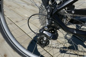 Altus derailleur is a bit low-rent for a bike of this quality