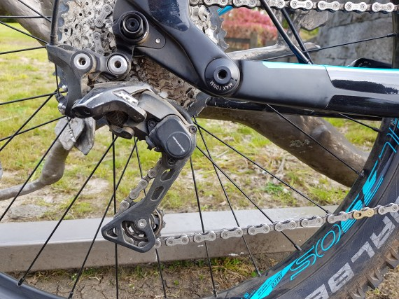XT derailleur worked perfectly
