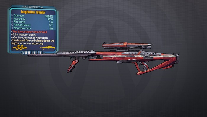 Invader borderlands 2 legendary weapons