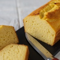 Cornmeal cornbread, a loaf that tastes like polenta